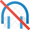 Mute Headphone Icon