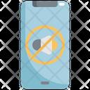 Mute Sound Mobile Icon