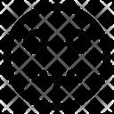 Muted Emoji Expression Icon