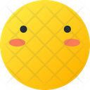 Muted Smiley Avatar Icon