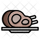 Mutton Meat Lamb Icon