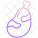 Mutton Meat Meal Icon