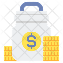 Mutual Funds Coins Dallor Icon