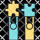 Mutual Insurance Matual Jigsow Icon