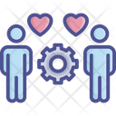 Mutual Understanding Customer Loyalty Icon