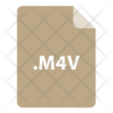 Mv File Format Icon
