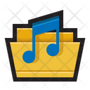 My music folder Icon