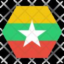 Myanmar Burma Burmese Icon