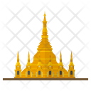 Myanmar Landmark Golden Icon