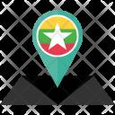 Myanmar Flag Icon