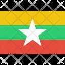 Myanmar Burma Icon