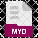 Myd File Icon