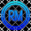 Myr Malaysian Ringgit Ringgit Icon