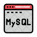 Mysql Icon Of Flat Style Available In Svg Png Eps Ai Icon Fonts