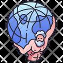 Mythology Globe Mythology Atlas Icon