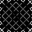 N Alphabet Sign Icon