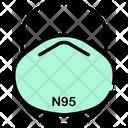 N 95 Mask Mask Virus Protective Mask Icon