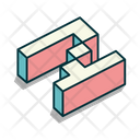 Alphabet Letter Typography Icon