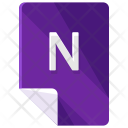 N File Format Icon