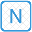 N letter Icon