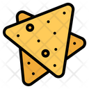 Nachos Snack Chips Icon