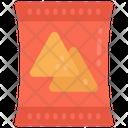 Nachos Crisps Chips Icon