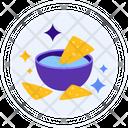 Nachos Chips Snack Icon