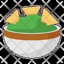 Nachos Tacos Mexican Dish Icon