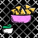 Snacks Nachos Crackers Icon