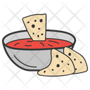 Mexican Dish Mexican Cuisine Nachos Chips Icon