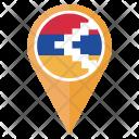Nagorno Karabakh Flag Icon
