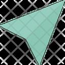 Dart Paper Aeroplane Paper Airplane Icon