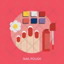 Nail Polish Hand Icon