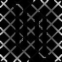 Nail Material Construction Icon