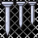 Nail Hardware Construction Icon