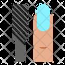 Nail File Cosmetics Women Icon