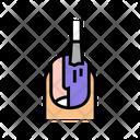 Nail Polish Procedure Icon