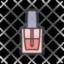Nail Polish Cosmetic Icon