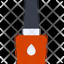 Nail Polish Bottle Nailpolish Cosmetics Icon