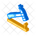 Nailing Hammer Isometric Icon