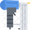 Nailing Gun Builder Icon