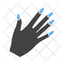 Nailpolish Hand Makeup Icon