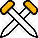 Nails Construction Tool Icon