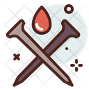 Nails And Blood Icon