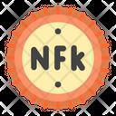 Nakfa Eritrea Currency Icon