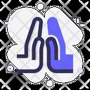 Namaste Tolerance Hand Icon
