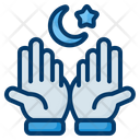 Namaz Pray Hand Icon