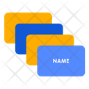Name Card Id Card Details Icon