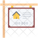Nameplate Sale Real Icon