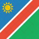 Namibia Flag World Icon
